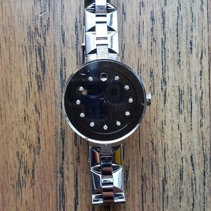 Movado Mirror Ladies watch with diamonds